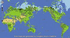 Google Maps Rolls Out 8-B Version for NES