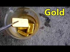 How To Recover Gold From Computer Scrap with Household Chemicals - YouTube