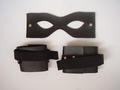Kit Máscara+ Algema com cadarço
