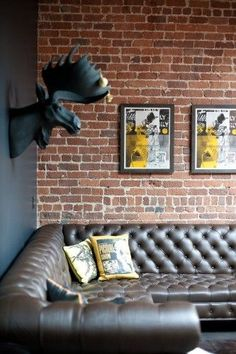 I always loved everything about art, design and decor. If you go to Pinterest and look for Men's Bachelor Pad Decor ideas you will be amazed.