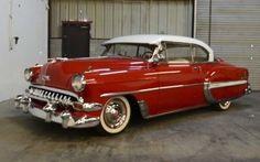 1954 Chevrolet Bel Air two door hardtop.