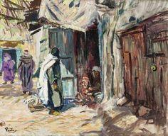 Henri Pontoy - Les Souks, Maroc
