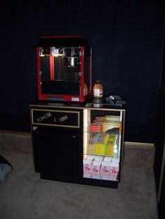DIY Concession/candy Stand construction