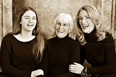 generational moms | Generations Family Portrait featuring the Backman Women at Studio B ...