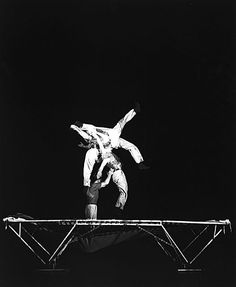 Harold Edgerton (United States, 1907 - 1990)  Trampoline, 1960  Photograph, Gelatin-silver print, Unframed: 10 x 8 in. (25.4 x 20.32 cm)  Gift of the Harold and Esther Edgerton Family Foundation (AC1996.119.2)  Photography Department. LACMA