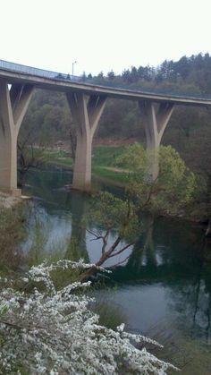 Slunj - spring on river Korana