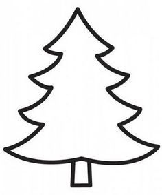 Christmas tree template Source by christasilberba Christmas Hacks, Christmas Crafts For Kids, Felt Christmas, Simple Christmas, Christmas Ornaments, Christmas Tree Template, Christmas Tree Themes, Christmas Colors, Easy Toddler Crafts