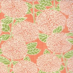 BLUEBIRD PARK Hydrandea - Tangerine - Moda Fabrics - 1 Yard cotton wide Quilting/apparel weight Want more than a yard? To view other fabrics in this collection: Orange Fabric, Art Gallery Fabrics, Papers Co, Image Shows, Blue Bird, Hydrangea, Fabric Design, Folk Art, Sewing Projects