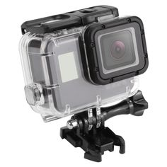 SHOOT 45m Waterproof Case for Gopro Hero 5 Black Edition Camera with base  Mount Protective HERO 5 Case Go Pro Accessories b7c313fc85