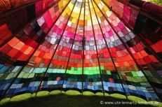 Knitted tipi, I totally need to make one!