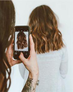 Photo ready curls #ashandoaksalon #behindthechair #balayage #naturalbalayage #brunettebalayage #t3pro #t3micro Long Lasting Curls, Curling Iron, Short Hair Styles, Hairstyles, Board, Girls, Living Room, Bob Styles, Haircuts