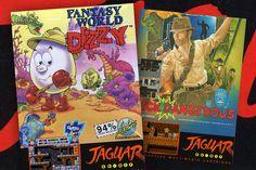 Fantasy World Dizzy, Rick Dangerous & Other Atari ST Classics ...