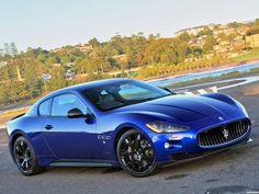 Maserati granturismo s mc 2012