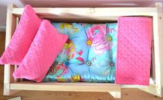 Doll bed mattress tutorial...pretty sure Chloe needs this for Ariel's night night!