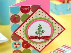 Stamped Polar Bear Christmas Cards