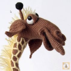 Project by Elena Himichenko. Giraffe crochet pattern by Pertseva for LittleOwlsHut #giraffe #animal #savana #crochet pattern #Pertseva #LittleOwlsHut #crafts_&_DIY