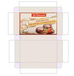 Imprimible - Imprimibles cajas polvorones en miniatura