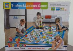 Giant Snake and Ladders (TS- G -03) Premium game