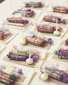 -Kids Activities *Bundle crayons with a notebook and a candy necklace!
