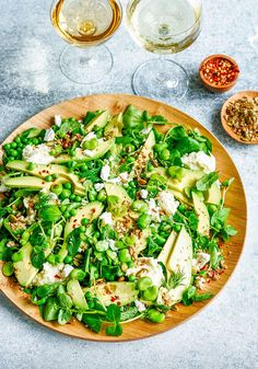5 Spring Salads Best Enjoyed Alfresco With a Glass of Rosé