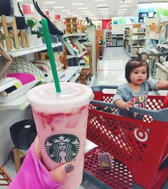 amylouhawthorne Strawberry acai refresher with coconut milk instead of water and light ice