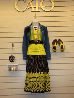Cato Fashions 2014 Event Gainesville Texas, Spring 2014, High Waisted Skirt, Cute Outfits, Chic, Womens Fashion, Skirts, Summer, Shopping