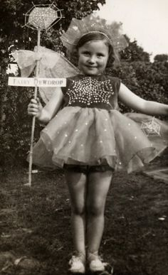 vintage everyday: 35 Cute Vintage Photos of Children Dressed Up as Fairies in the Early 20th Century