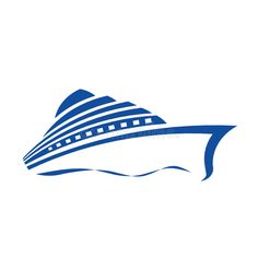 Illustration about Cruise Ship stylized Logo in one color. Illustration of ocean, holiday, ship - 18561417 Virgo Birthday, Ship Logo, Stencil, Boat Names, Creative Icon, Beach Themes, One Color, Icon Design, Illustration