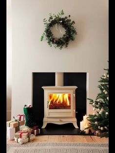 Wood Burner Fireplace, Wood Burning, Stove, Woodworking, Club, Cream, Creme Caramel, Wood Burner, Range
