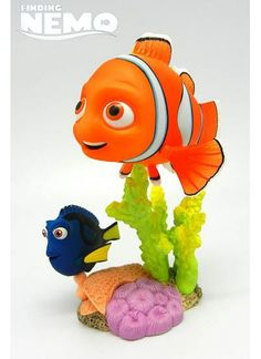 "Fully posable fish! Yup, here's Pixar's Finding Nemo star Nemo himself, getting the Revoltech treatment as a fully posable figure. Includes different faces, and dizzy Dory as an accessory! Even his ""special fin"" is faithfully reproduced! Nemo measures about 4-inches in length and 2.5-inches in height.    Japanese imported. $24.99"