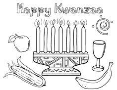 Printable Kwanzaa Coloring Page Free PDF Download At Coloringcafe