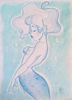 ":Mermaid"" by jackfreak1994 on deviantart"