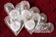 preschool valentines day party favors wax paper and rock candy or jelly beans Valentines Day Holiday, Valentine Crafts, Happy Valentines Day, Holiday Fun, Holiday Ideas, Valentine Party, Valentine Ideas, Paper Hearts, Wax Paper
