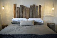 tete de lit bois de grange