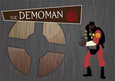 Team Fortress 2 - Demoman Vector by marekmaurizio.deviantart.com
