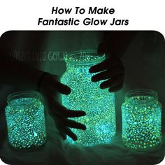 How to make glow jars