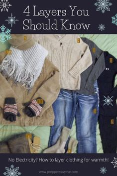 Wool Socks, Cotton Socks, Layering Outfits, Layering Clothes, Thermal Long Johns, Go Outdoors, Power Outage, Body Heat, Emergency Preparedness