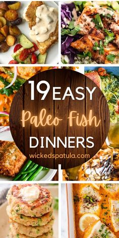 Easy Paleo Dinner Recipes, Paleo Fish Recipes, Gluten Free Dinner, Paleo Life, Fish Dinner, Whole30, Tasty, Diet, Ethnic Recipes