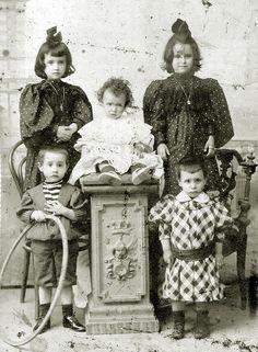 Familia Carrera, Xixon, 1900.