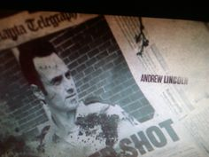 The walking dead Andrew Lincoln (Rick Grimes)