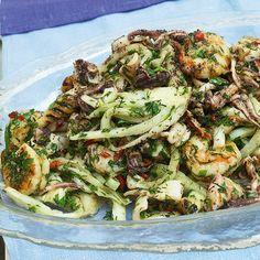 Seafood, Fennel, and Lime Salad