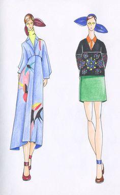 Fashion Illustration, Delpozo