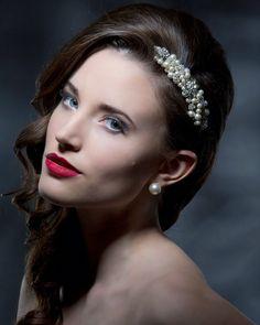 Bridal Comb, Bridal Hair, Headpiece Wedding, Carat Gold, Swarovski Pearls, Hair Band, Beautiful Day, Wedding Jewelry, Online Shopping