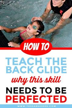 CLICK THROUGH to learn how to teach a beginner to swim. Before you introduce your child to any sort of propulsive swimming skills like arm strokes and kicking, she needs to master floating on her front and her back. If you don't have a pool, a bathtub is Swimming Games, Swimming Tips, Kids Swimming, Swimming Workouts, Beginner Swim Workouts, Swimming Drills, Pool Exercises, Swimming Coach, Pool Games