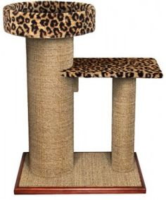 Cat scratching post- I need to make something like this for Tiger and Oreo