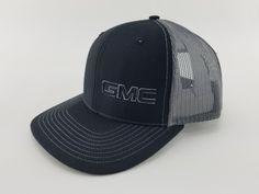 f2ef926d GMC hat, gmc truck, trucker hat, Richardson 112, gmc sierra, gmc trucker hat,  embroidered hat, 3d embroidered hat, sports gift, for him gift