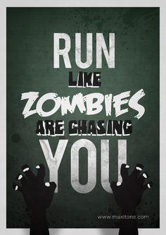 Get in a zombie run!