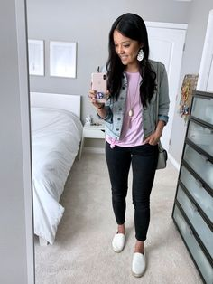 Simple Casual Outfits, Everyday Casual Outfits, Business Casual Outfits, Preppy Outfits, New Outfits, Cute Outfits, Casual Clothes, Denim Outfits, Comfy Clothes
