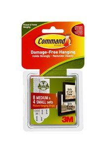 Sticky Picture Hangers Command Adhesive Picture Hanging Strips