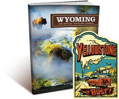 FREE Yellowstone Sticker and Wyoming Travel Guide on http://www.freebies20.com/